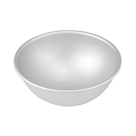 fat daddios aluminum hemisphere cake pan    deep