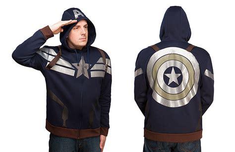 Hoodie Strike Suit Abu captain america premium s h i e l d strike stealth hoodie geektyrant