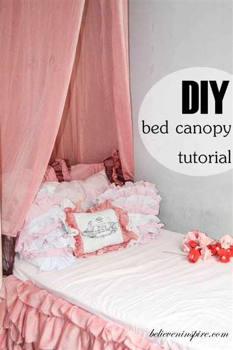 easy bedroom diy how to make super easy bed canopy contemporary beds
