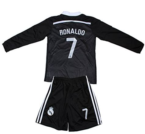Baby Dress Madrid Home 1516 fcrm real madrid 7 ronaldo black limited edition