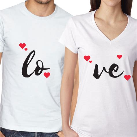 Couples Valentines Matching Shirts Couples Matching S Day T Shirts Expressmytee