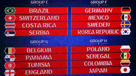grupo brasil mundial 2018 mundial 2018 sorteo mundial 2018 rusia as 237 queda la fase