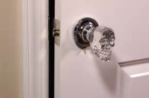Skull door knobs creepy or the best thing ever offbeathome