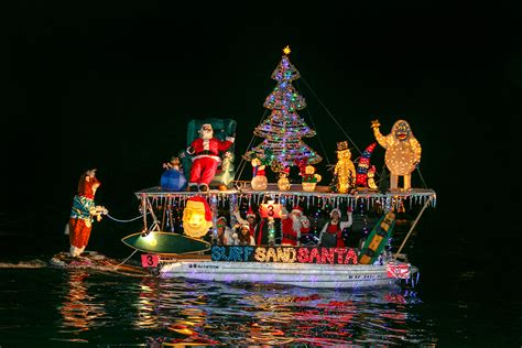 electric boat parade balboa island christmas boat parade of lights 2013
