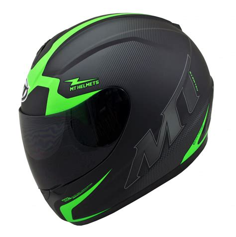 green motocross helmet mt thunder squad motorcycle helmet matt black green