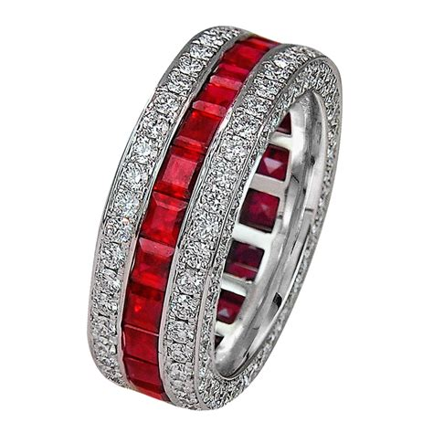 ruby wedding band jacob co timepieces