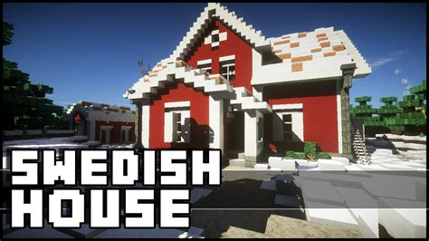 minecraft christmas house minecraft swedish christmas house youtube