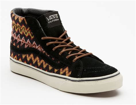 Sneaker Sepatu Vans Shoes Motif America Casual Mearah Putih Import 1 vans california sk8 hi ca quot zig zag quot sneakernews