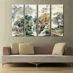 cheap modern wall decor large 4 canvas cheap modern wall panel decor 4