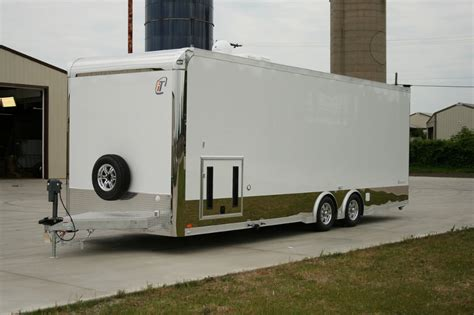 26 intech race car trailer with bathroom package rpm