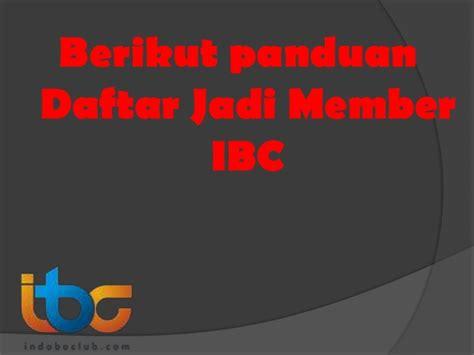 Cd Abenk Alter Selamat Datang selamat datang di panduan ibc