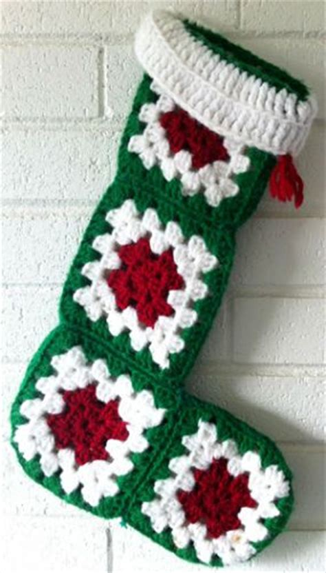 simple pattern for christmas stocking simple crochet christmas stocking pattern bing images