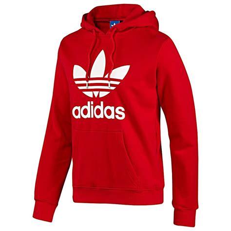 Sweater Fleece Adidas s adidas originals overhead hooded fleece sweater size s m l xl white ebay