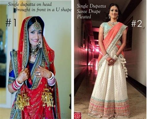 different ways of draping dupatta on lehenga 17 best images about dupatta styles to try on pinterest