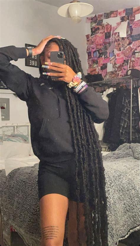 pin  dee cee  liyah li black girl braided