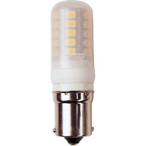 25 Watt Led Light Bulb Meridian 25 Watt Equivalent Bright White T5 Ba15s Base Led Light Bulb 13143 The Home Depot