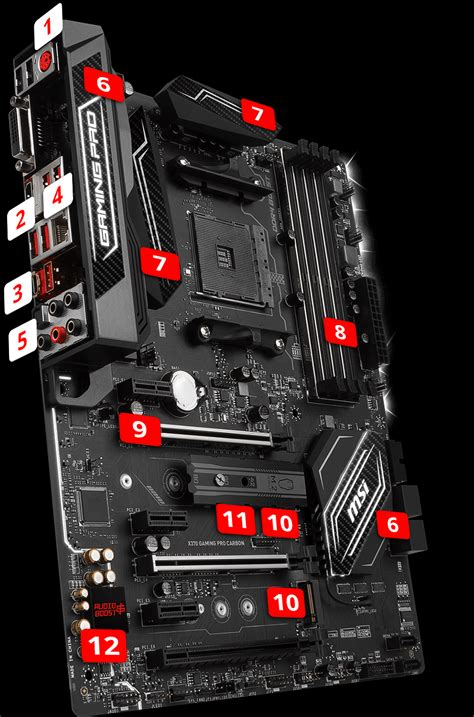 Msi B350m Gaming Pro By Gasol x370 gaming pro carbon motherboard the world leader in