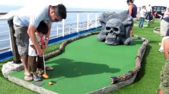 Mini Golf Miniature Golf On The Carnival Splendor