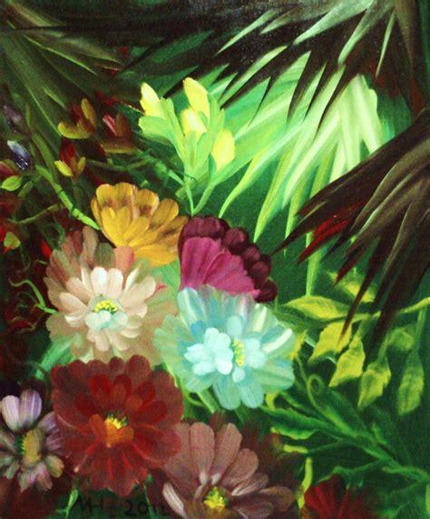Dschungel Pflanzen by Dschungel Landschaft Urwald Blumen Malerei Manuel