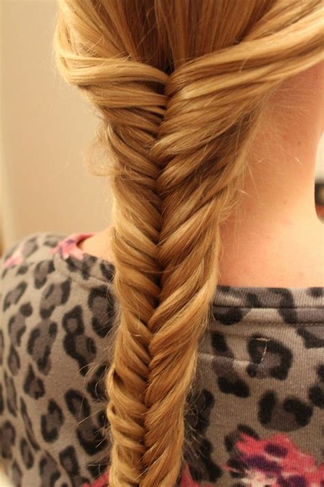 H Rfin by Fish Tales Hairstyles Fishtail Braid Cosmetology