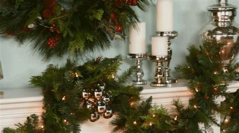 mantelpiece garlands 1000 images about on mercury glass