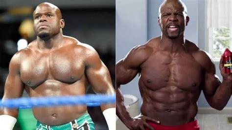 terry crews young photos bodybuilders terry crews vs dwayne the rock johnson