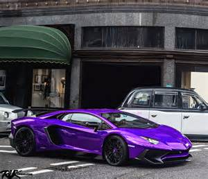 Purple Lamborghini For Sale Purple Lamborghini Aventador Sv Madwhips