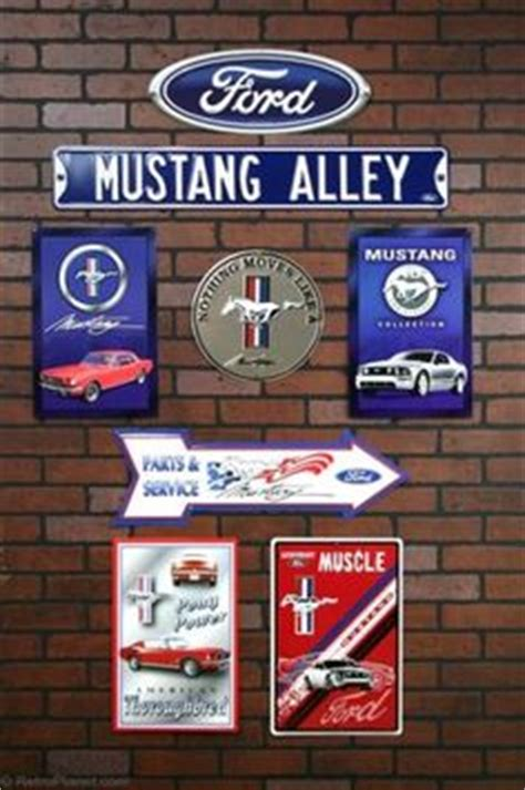 ford mustang home decor vinny s mancave and bedroom on pinterest metal wall art