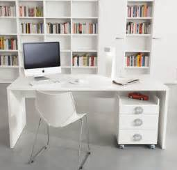 White Home Office Desks Desks