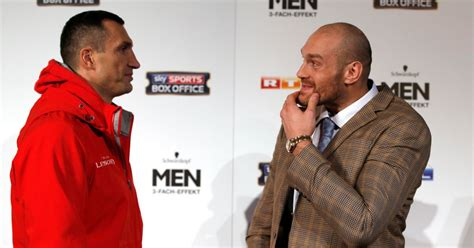 siaran tv tinju wladimir vs tyson what channel is klitschko vs fury on tv listings