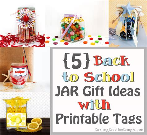 gift ideas for school five back to school gift ideas in a jar doodles