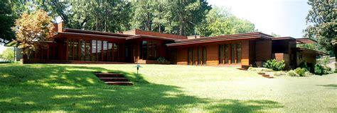 usonian house file rosenbaum house front pano jpg wikipedia