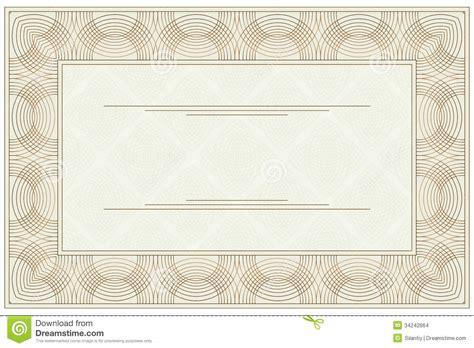 blank voucher stock vector illustration  blank backdrop