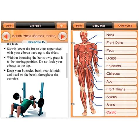 bodybuilding apps in itunes exercise with your iphone