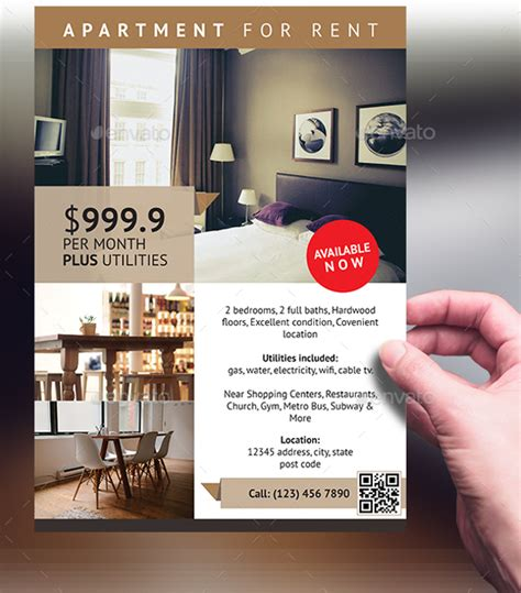 apartment flyer template 14 download in vector psd