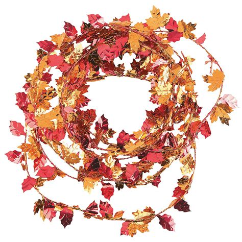 fall leaves garland decorations fall leaves garland garland decorations