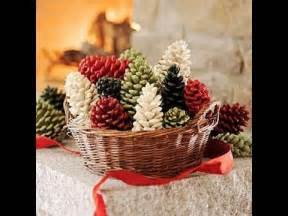 christmas pine cone decorations arts and crafts creative