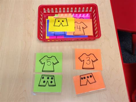 Study Do Clothes Replace by Preschool My Clothes Theme Number Math Activity We Could