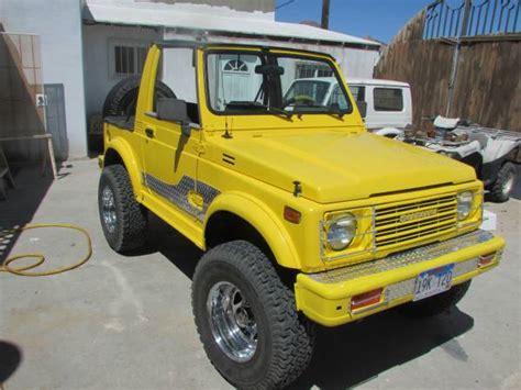Suzuki Samurai For Sale California Suzuki Samurai For Sale In California American