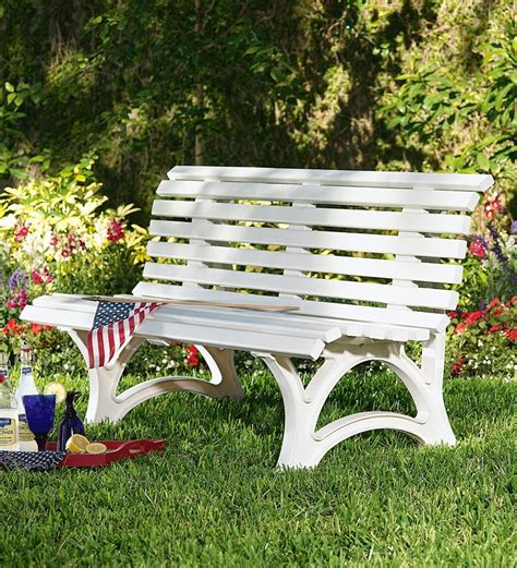 resin garden bench outdoor furniture problem solvers
