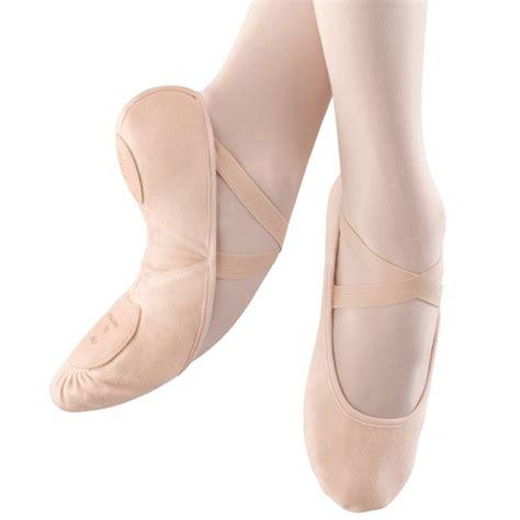 bloc pro arch canvas split sole ballet shoe