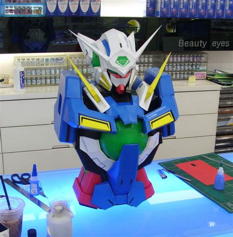 Gundam Exia Papercraft - alf img showing gt papercraft gundam exia