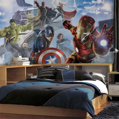 superhero wallpaper bedroom interior design amazing superhero wall decals for kids bedroom decoration sipfon