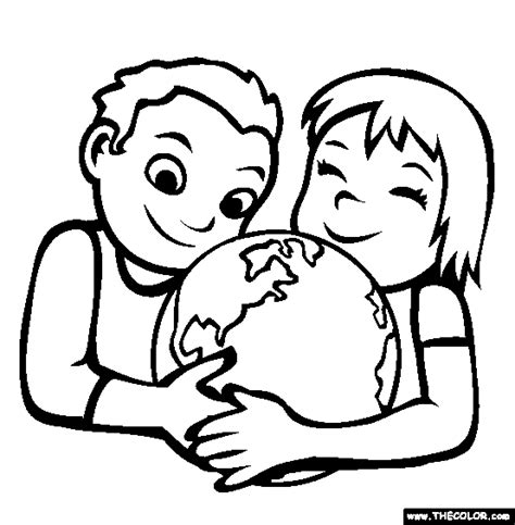 world peace day online coloring pages page 1