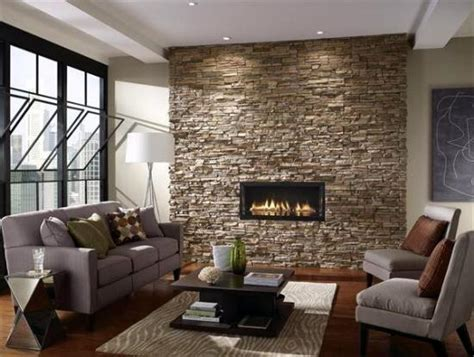 stone wall tiles for living room ideas geniales en revestimiento de paredes hoy lowcost
