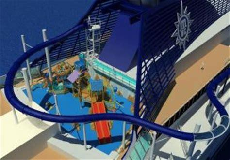 msc preziosa interno lo scivolo d acqua pi 249 lungo mai installato su una nave da