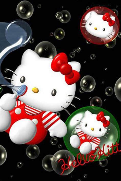 wallpaper iphone kitty hello kitty cartoon iphone hd wallpaper iphone hd