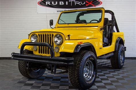 cj jeep yellow 1982 jeep cj 7 yellow