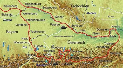 Motorradtouren Oberpfalz by Motorradreise 214 Sterreich Gef 252 Hrte Motorradtouren