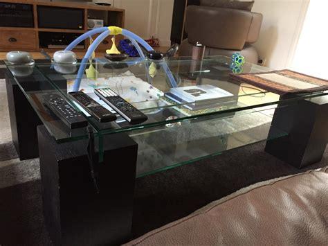 roche bobois table basse table basse verre et bois roche bobois roche bobois